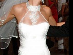 Sprzedam suknię ślubną- Rybka z welonem