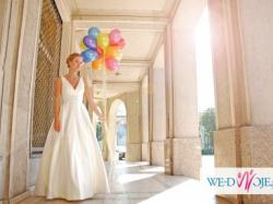 Sprzedam suknię ślubną San Patrick 2013 rozm. 34