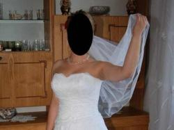 Sprzedam suknię ślubną-stan bardzo dobry