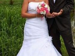Sprzedam suknię ślubną SYMERYT Ciechanów