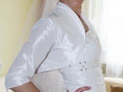 Sprzedam suknię ślubną szytą na miarę