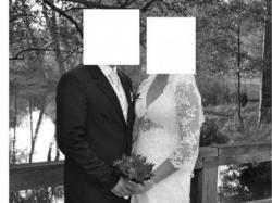 Sprzedam Suknię Ślubną szytą na miarę - styl Justin Alexander model 8446