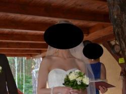 Sprzedam suknię ślubną Trieste z hiszpańskiej kolekcji White One