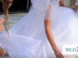 """sprzedam suknię ślubną typu """"księżniczka"""""""