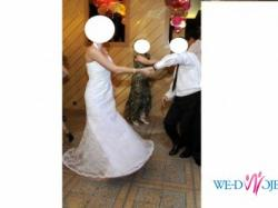 """Sprzedam suknię ślubną typu """"Rybka"""""""