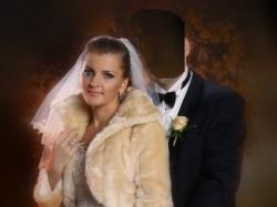 sprzedam suknię ślubną Urszula mateja 640 oraz dwa bolerka ze sztucznej norki