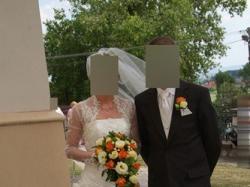 """sprzedam suknie ślubną""""Urszuli Mateji"""""""