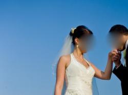 Sprzedam suknię ślubną w k. śmietanki