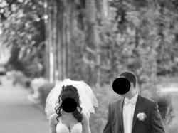 Sprzedam suknię ślubną w kolorze bieli, Rozmiar 36-38