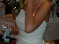 Sprzedam suknię ślubną w kolorze kremowym