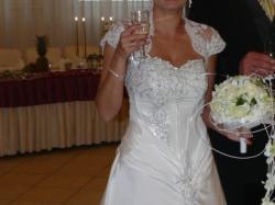 Sprzedam suknię ślubną w rozmiarze 8-10