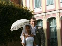 sprzedam suknie ślubna w stanie idealnym rozmiar38 na wzrost 157-159cm