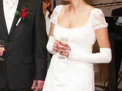 Sprzedam suknię ślubną w stylu retro tzw. Józefinka