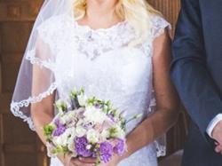 Sprzedam suknię ślubną w stylu syrenki