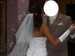 sprzedam Suknię ślubną, +welon i rękawiczki