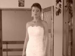 sprzedam suknię ślubną WHITE ONE 176  HISZPAŃSKA KORONKA