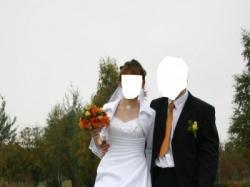 Sprzedam suknie ślubną wraz z bolerkiem i welonem