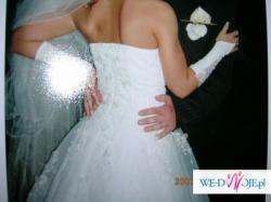 sprzedam suknie ślubną wraz z welonem/butami i dodatkami