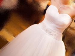 sprzedam suknie ślubną z czerwca 2014!