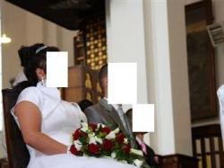 sprzedam suknię ślubną z dodatkami gratis- rozmiar 42-46