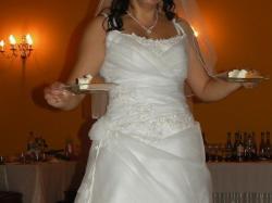 Sprzedam suknię ślubną z dodtakami TANIO!!!