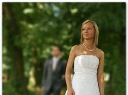 Sprzedam suknię ślubną z kolekcji Demetrios 2008 w rozm. 36