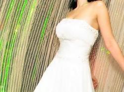 Sprzedam suknię ślubną z muślinu Atelier Sposa Novara 36