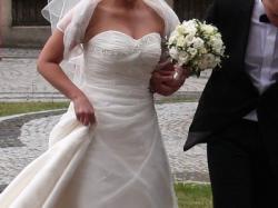 Sprzedam suknię ślubną z najnowszej kolekcji z 2009 r. Pronovias Rene!!!