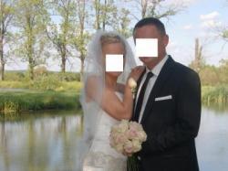 Sprzedam suknie ślubną z salonu Impresja w Rzeszowie roz 36/38