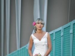 Sprzedam suknię ślubną z salonu Madonna model White One 450