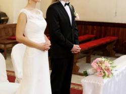 Sprzedam suknie slubną Zirella kolekcja Gala 2012 r. 36/biała