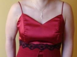 sprzedam suknię wieczorową w dobrym stanie - rozmiar 40