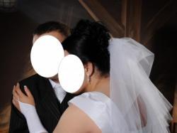 Sprzedam sunie ślubną cena 500 zł.