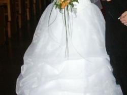 Sprzedam tani śliczną suknię ślubną