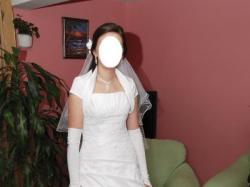 Sprzedam TANIO cudowna suknie slubna!!!Rozmiar 38-40
