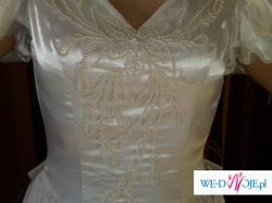 Sprzedam TANIO niemiecką suknię ślubną