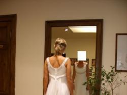sprzedam tanio przepiękną suknię ślubną w stylu greckim