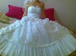 Sprzedam tanio śliczna suknie ślubna