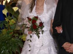 Sprzedam tanio śliczną suknie ślubną