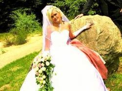 Sprzedam tanio!!  suknię ślubną!