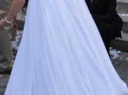 Sprzedam tanio suknie ślubną 34/36