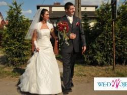 Sprzedam tanio suknię ślubna