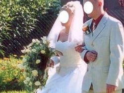 Sprzedam TANIO suknie ślubną rozmiar 38