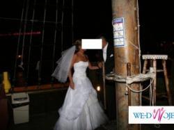 Sprzedam tanio suknię ślubną - stan idealny