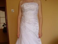 Sprzedam tanio suknie ślubną z salonu MS Moda.