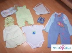 Sprzedam ubranka dziecięce w zestawie. Tanio!!!
