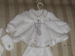 Sprzedam ubranko do chrztu dla dziewczynki na rozmiar 68