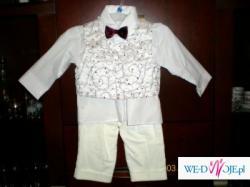 Sprzedam ubranko do chrztu rozmiar 74-80 dla chłopca.