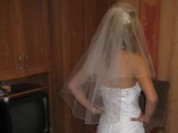 sprzedam uroczą suknię ślubną roz. 36/38 z USA