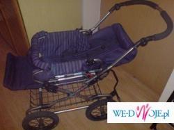 Sprzedam używany wózek Emmaljunga seat unit S1   głeboko - spacerowy